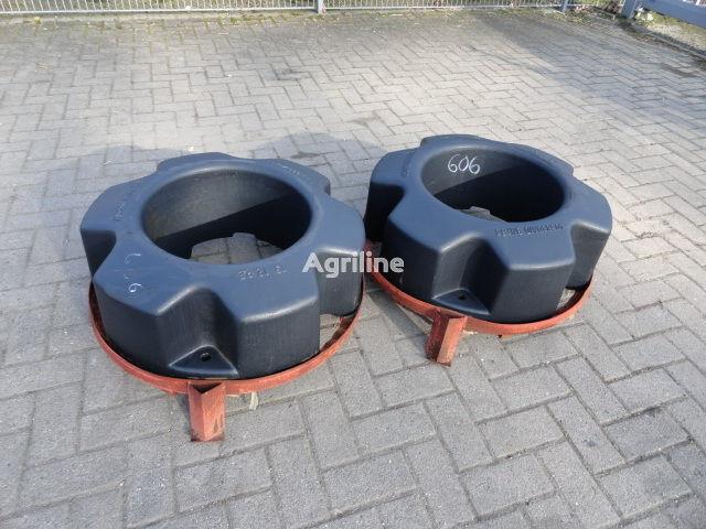 contrappeso CASE IH Hinterradgewichte CNH 454 kg nuovo