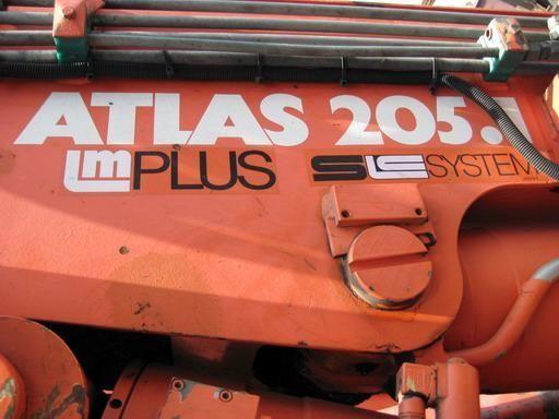 gru per autocarro ATLAS 205.1 (Geramaniya)