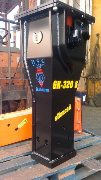 martello idraulico ITALDEM GK 320S nuovo