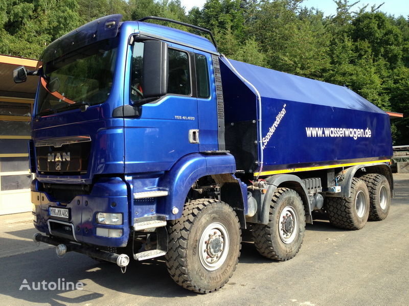 camion autocisterna MAN TGS 41.480