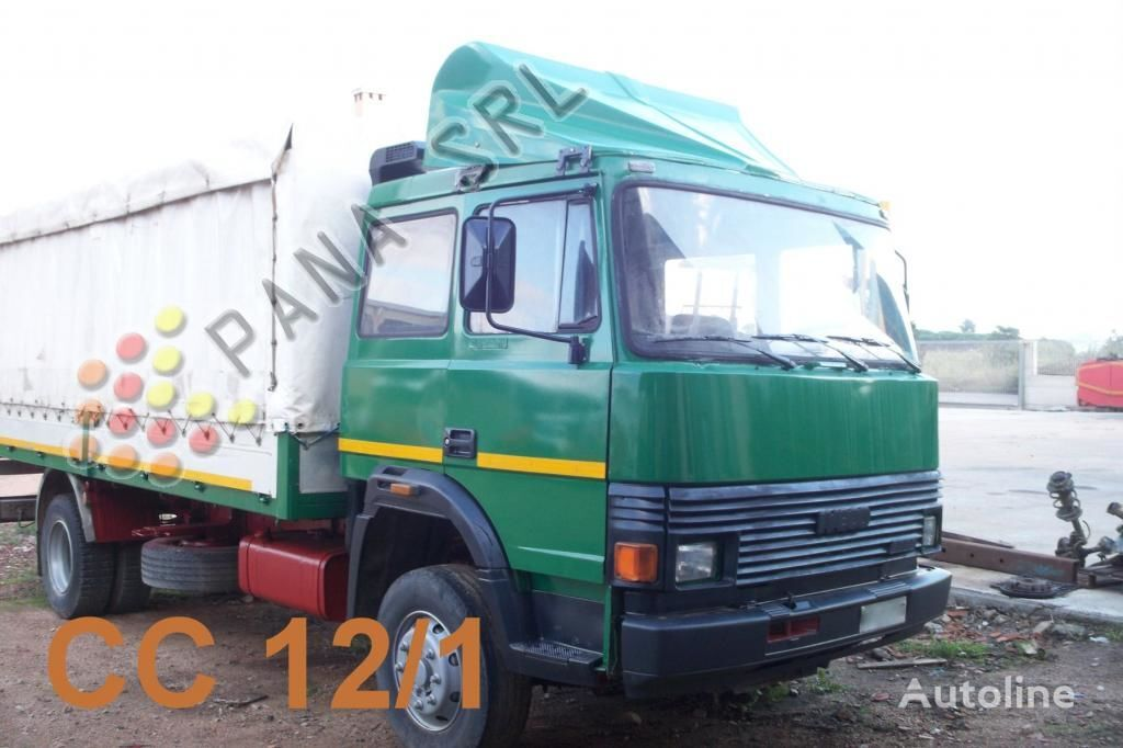 Vendita di camion centinati iveco 135 17 in italia - Portata massima camion italia ...
