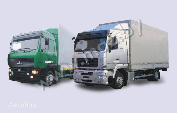 camion centinato MAZ 5340 (19, E9)