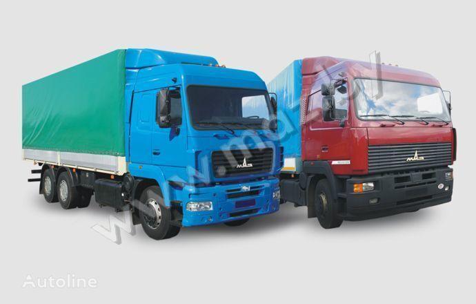 camion centinato MAZ 6312 (A5, A8, A9)