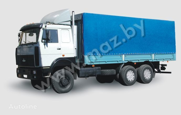 camion centinato MAZ 6317 (05, 08) Polnoprivodnyy