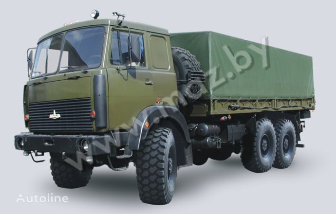 camion centinato MAZ 6317 (08, 09) Polnoprivodnyy