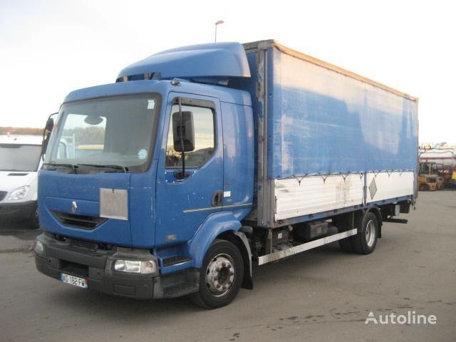 camion centinato RENAULT Midlum 180