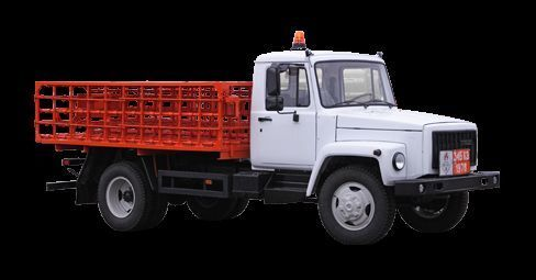 camion pianale GAZ KT-602-01 nuovo
