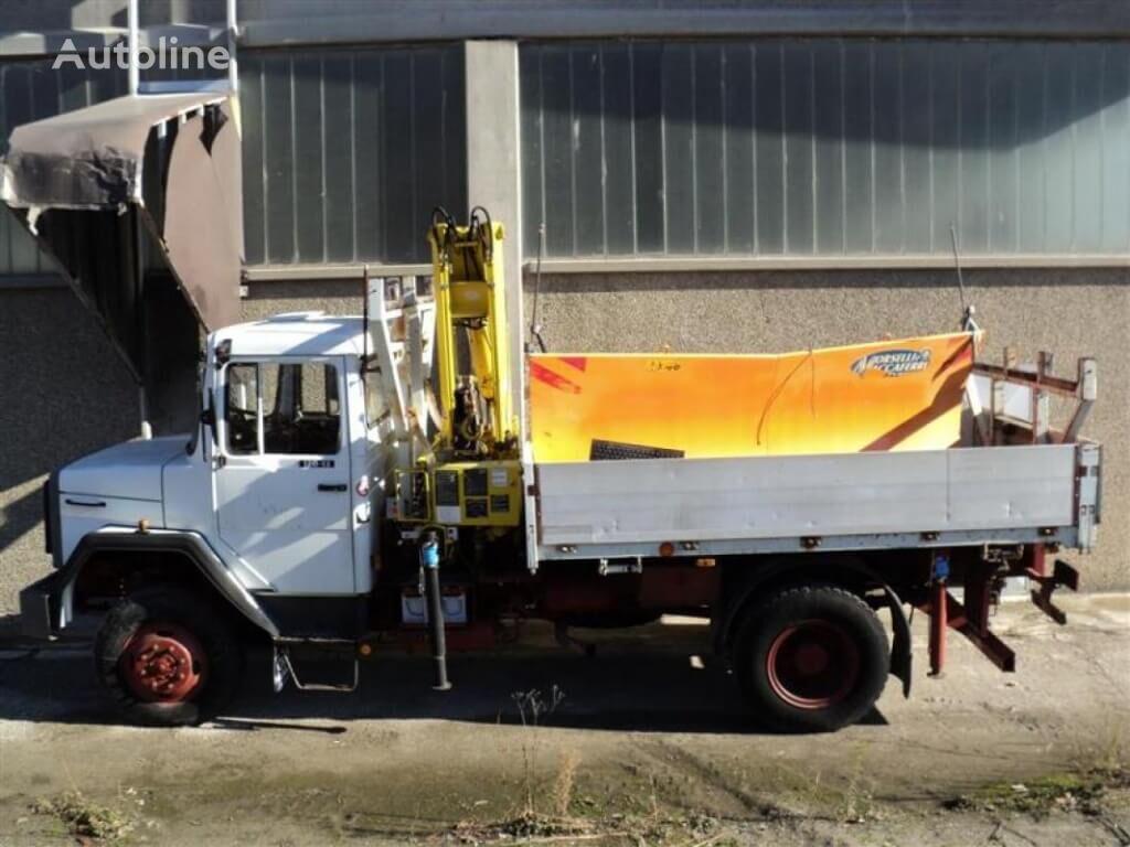 Vendita di camion pianali iveco magirus 130 d12 ak con - Portata massima camion italia ...