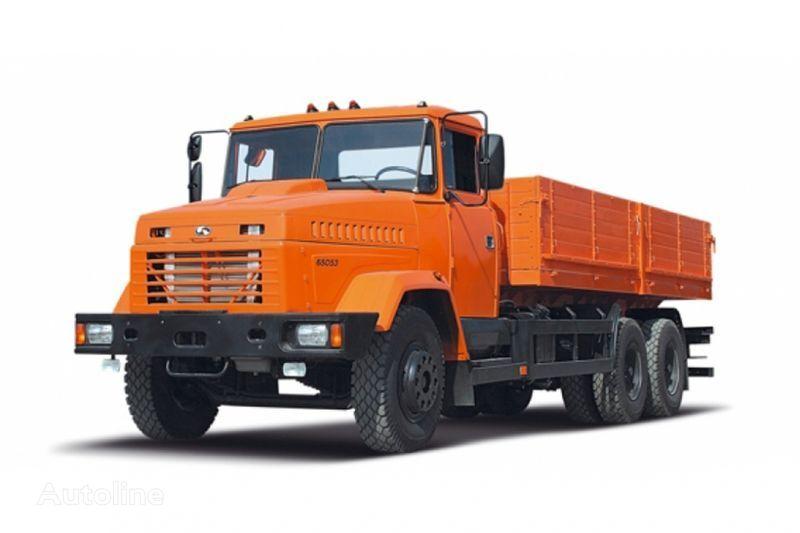 camion pianale KRAZ 65053