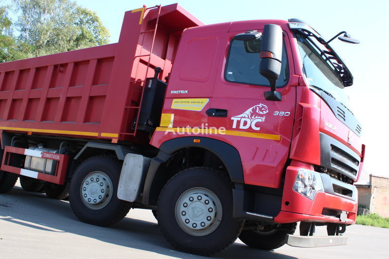 camion ribaltabile HOWO A7 nuovo