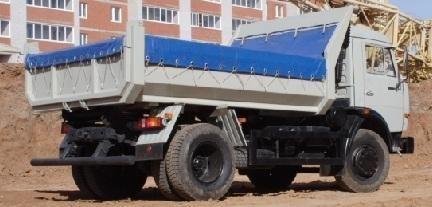 camion ribaltabile KAMAZ 43255 nuovo
