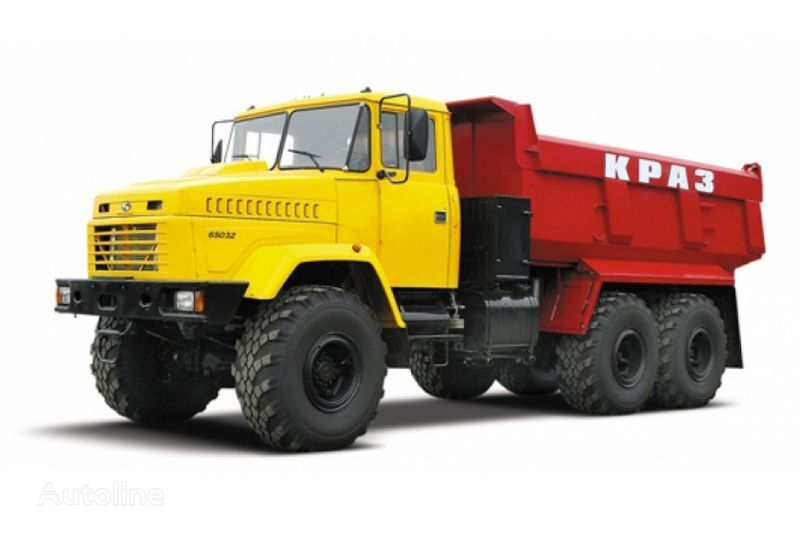 camion ribaltabile KRAZ 65032 tip 3