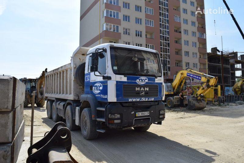 camion ribaltabile MAN TGA41.400BB-WW