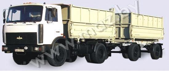 camion ribaltabile MAZ 5551 (A2, 47 ) nuovo