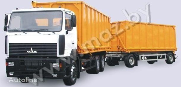 camion ribaltabile MAZ 6501A5 avtopoezd nuovo