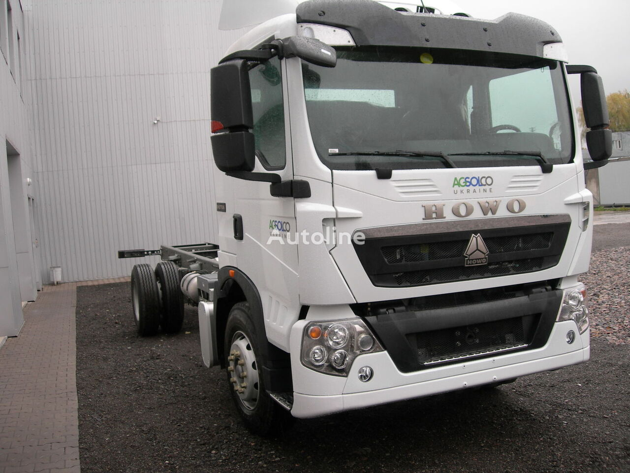 camion telaio HOWO T5G nuovo