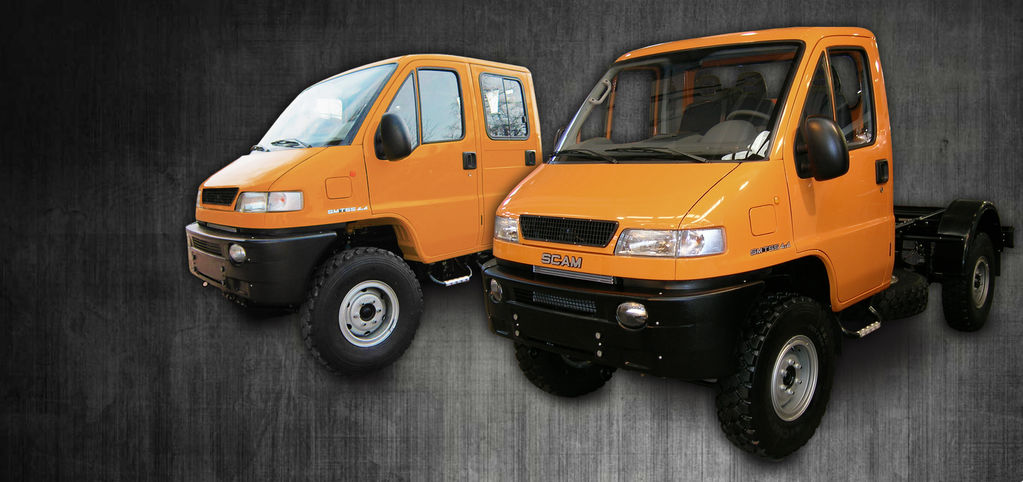 camion telaio SCAM SMT55 nuovo