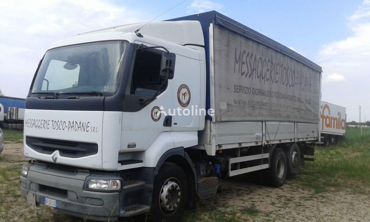 camion telonato RENAULT PREMIUM 420 DCI