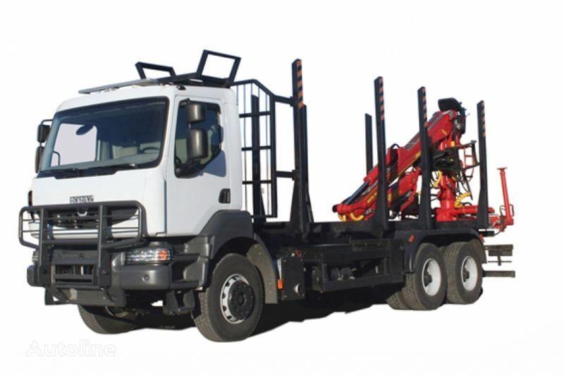 camion trasporto legname KRAZ M19.2R