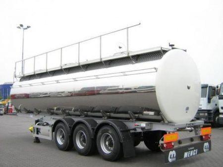 cisterna alimentare SANTI SANTI-MENCI pishchevaya cisterna BPW ECO-AIR SANTI-MENCI nuova