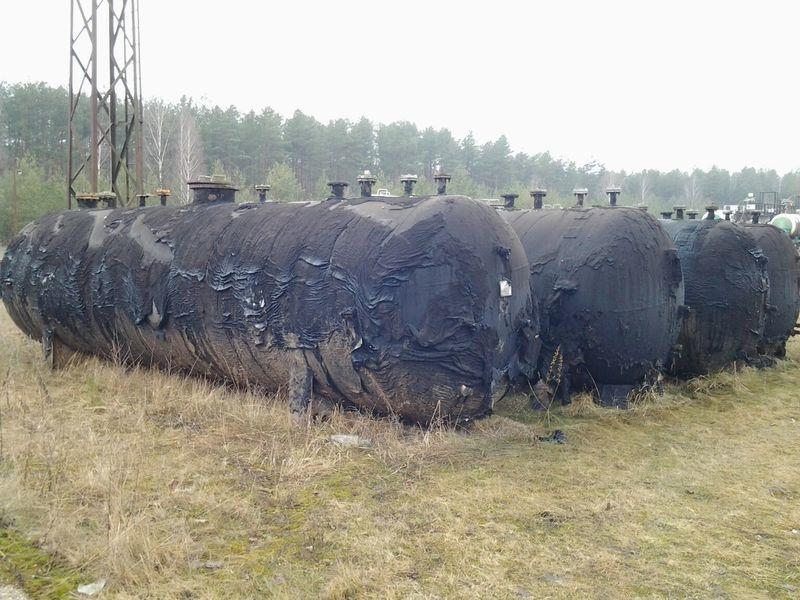 cisterna per gas LPG TANKERS 25000L  4 UNITS