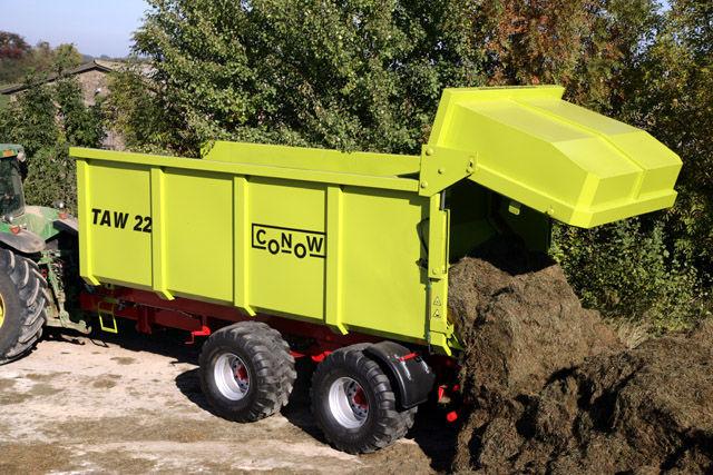 rimorchio agricolo CONOW TAW 22 nuovo