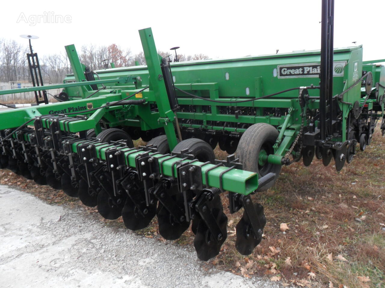 seminatrice meccanica GREAT PLAINS Solid Stand 20