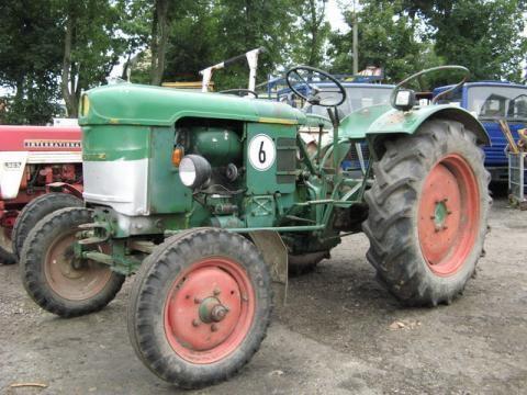trattore gommato DEUTZ-FAHR D 25 S-N