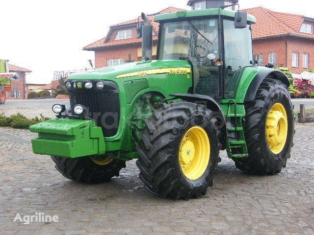 trattore gommato JOHN DEERE 9520