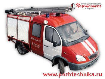 autopompa GAZ APP-0,5-2,0 Avtomobil pervoy pomoshchi