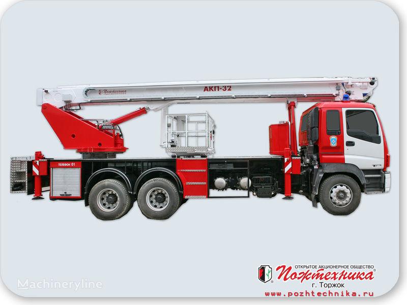 autoscala antincendio ISUZU AKP-32