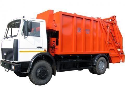 camion dei rifiuti MAZ KO-427-34