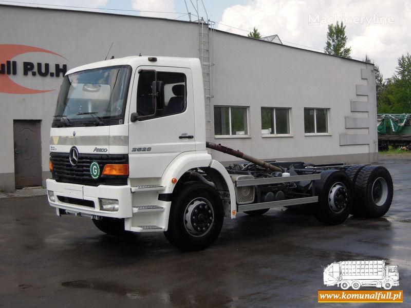 camion dei rifiuti MERCEDES-BENZ Atego 2528