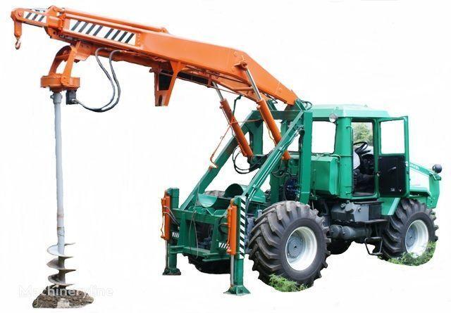 altre macchine edili HTZ Burilno-kranovaya mashina BKM-3U na baze traktorov HTZ 150K-09, H