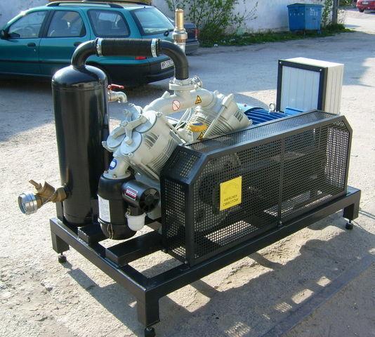 compressore SB1 BETICO z silnikiem elektrycznym