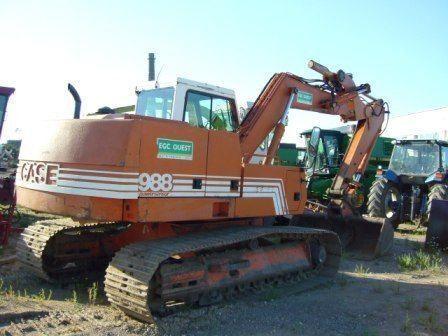 escavatore cingolato CASE 988