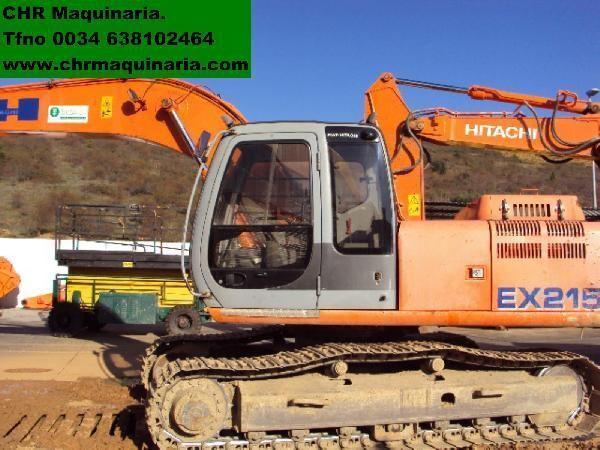 escavatore cingolato FIAT-HITACHI EX215