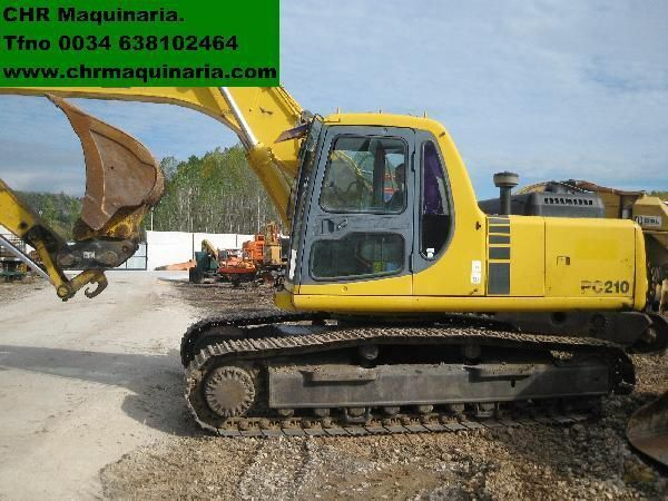 escavatore cingolato KOMATSU PC210-6