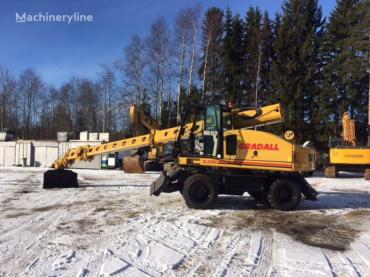 escavatore gommato GRADALL XL 3300