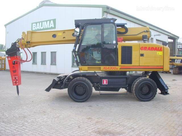 escavatore gommato GRADALL XL 4300