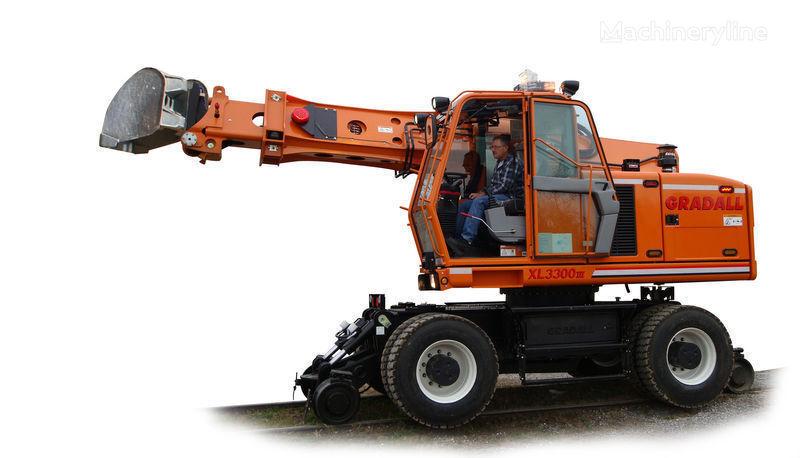 escavatore su rotaie GRADALL XL 3300 nuovo