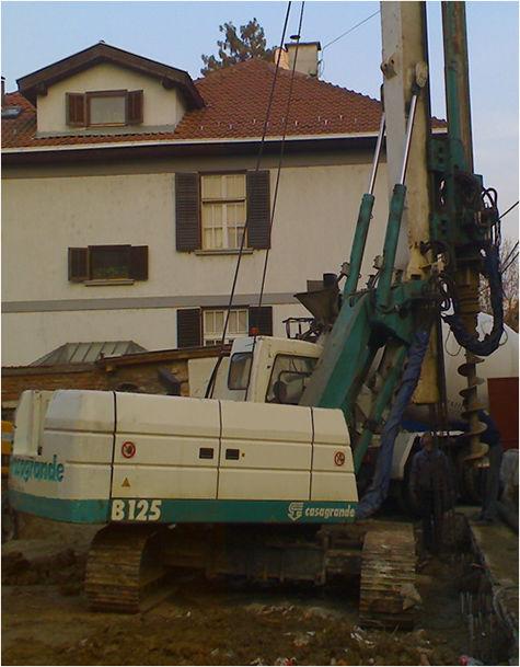macchina di infissione CASAGRANDE B125