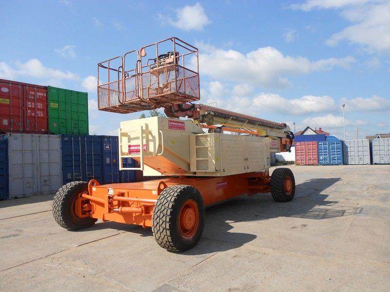 piattaforma telescopica JLG 150HAX, Diesel, 4x4, 47.7m