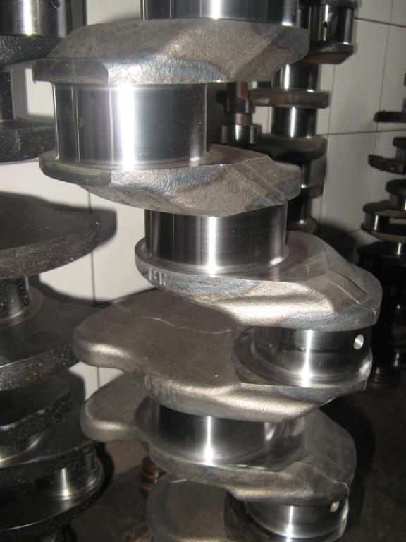 albero motore MAN EURO5, 440PS, crankshaft, D2066LF40, D2066LF36, 51021010673, 510 per trattore stradale MAN TGX