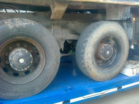 assale MAN 6x4 8x4 Niemcy per camion MAN 26-403