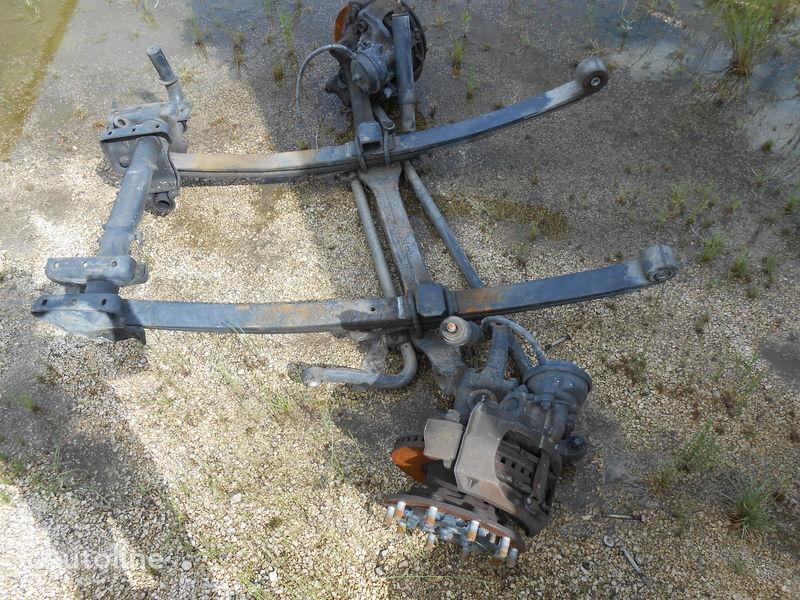 asse IVECO STRALIS 13D05 PART No. 7186419 KNORR BREMSE SN7042 SN 7052 41285 per camion IVECO