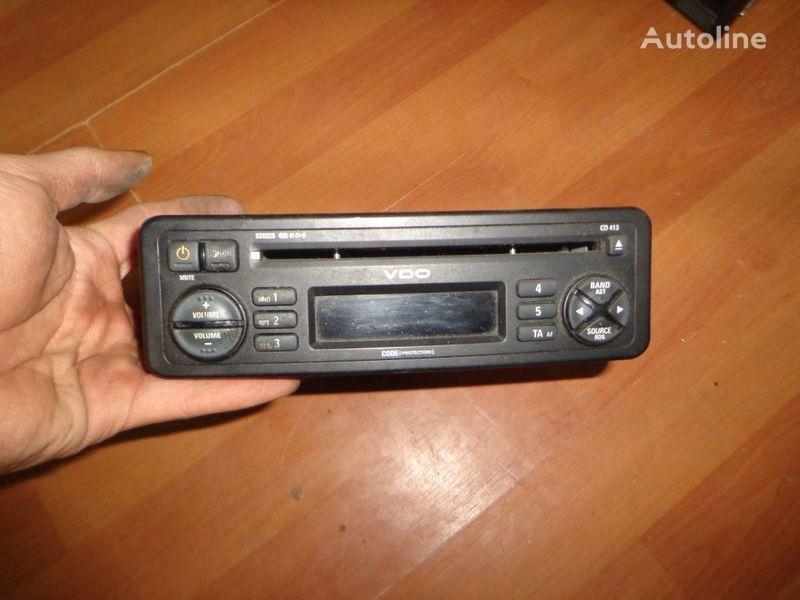 autoradio VDO CD413. 12V. CD. per camion