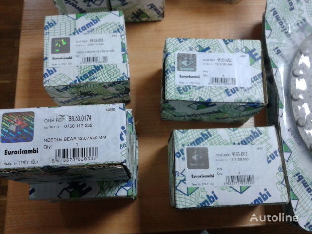 cambio di velocità ZF Podshipniki 0750117232 0750117678 0750117232 16S181,16 S221 per trattore stradale nuova