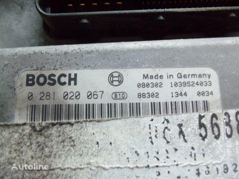 centralina MAN EDC 480PS D2676LF05 ECU BOSH 0281020067 EURO4, 51258037564, 5125 per trattore stradale MAN TGX