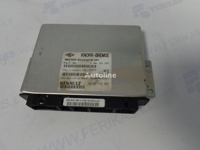 centralina RENAULT ABS control units 0486104049, 5010493009